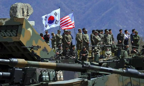 Mỹ không có kế hoạch ngừng thêm các cuộc tập trận chung với Hàn Quốc. (Ảnh: AFP/VOV)