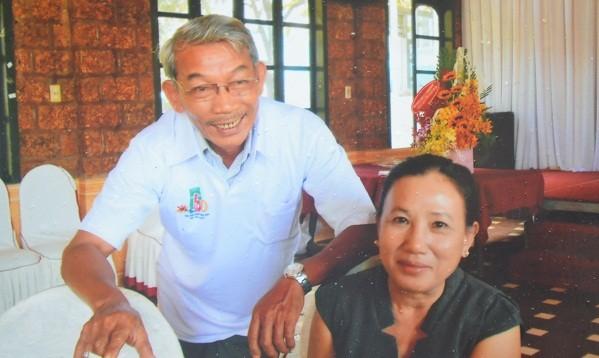 Ông Xuân, bà Lan ở xã Chư Ngọc, huyện Krông Pa, tỉnh Gia Lai