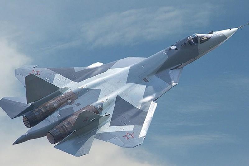 Sukhoi PAK FA T-50 (Su-57) của Nga. Ảnh minh họa nguồn Global Look Press