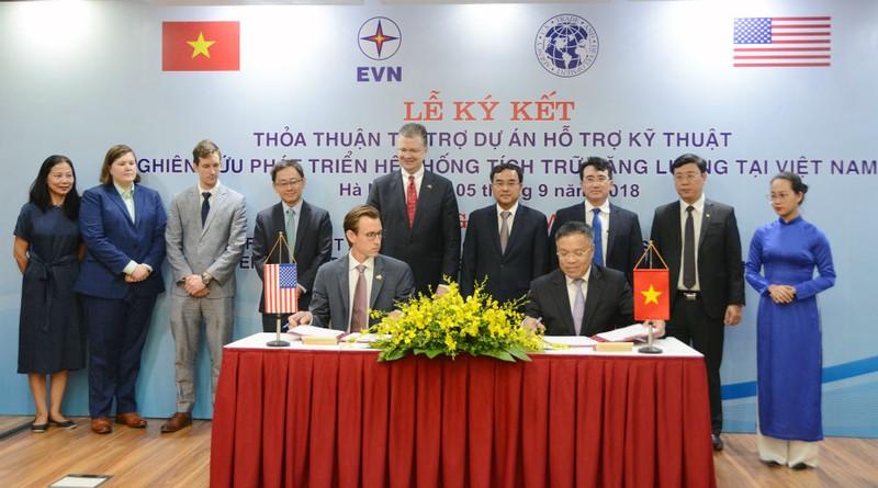 Hoa Kỳ ký hiệp định tài trợ cho EVN
