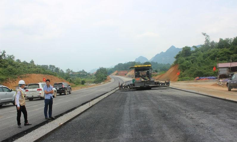 Một đoạn của dự án BOT cao tốc Bắc Giang – Lạng Sơn
