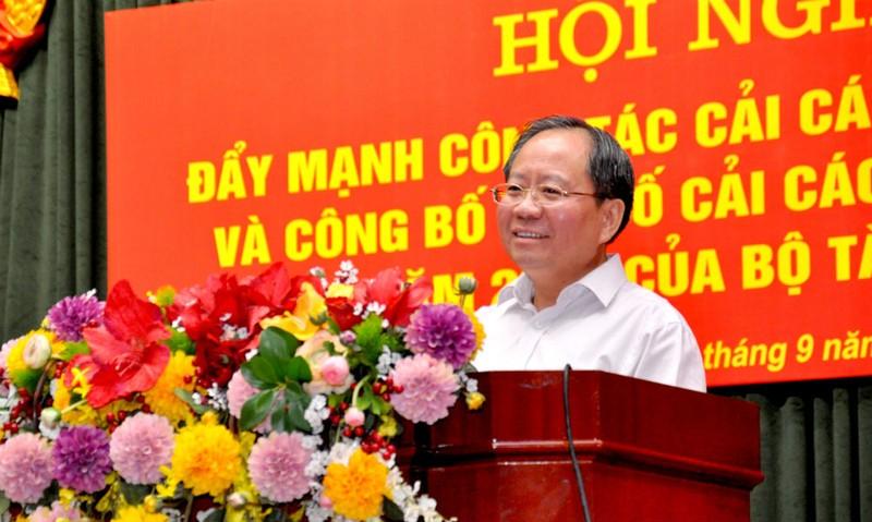 Thứ trưởng Đỗ Hoàng Anh Tuấn thừa nhận hiện đại hóa vẫn là điểm yếu của ngành tài chính