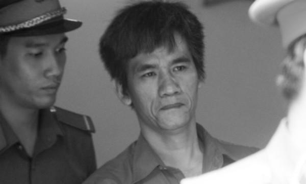 Bị cáo Hoàng Trọng Đông tại phiên xử