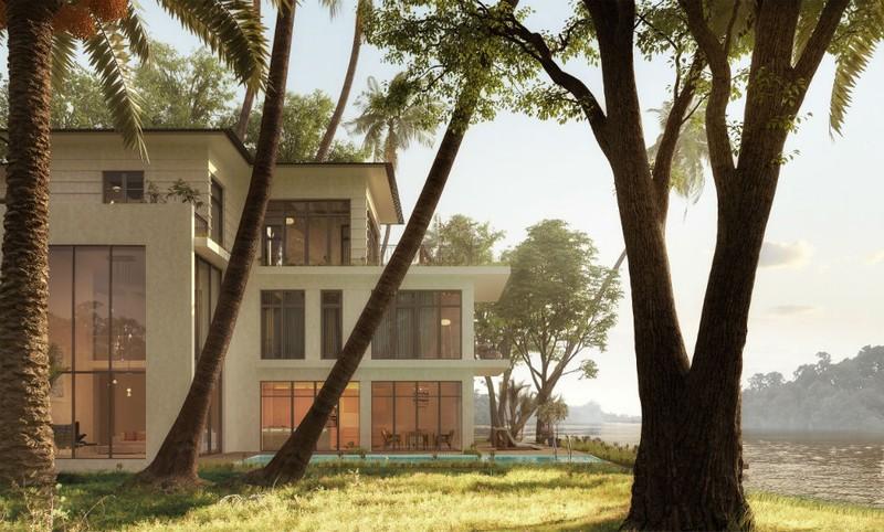 Biệt thự đảo Tiffany Topaz – Kiệt tác kiến trúc sắp được ra mắt tại Ecopark
