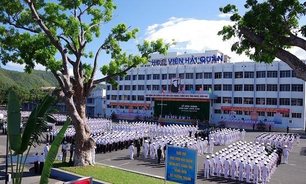 Lễ khai giảng tại Học viện Hải quân
