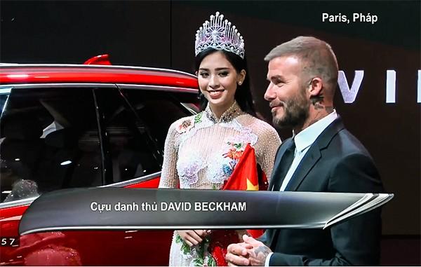 David Beckham thể hiện cảm nghĩ vềbộ đôi xe VinFast.