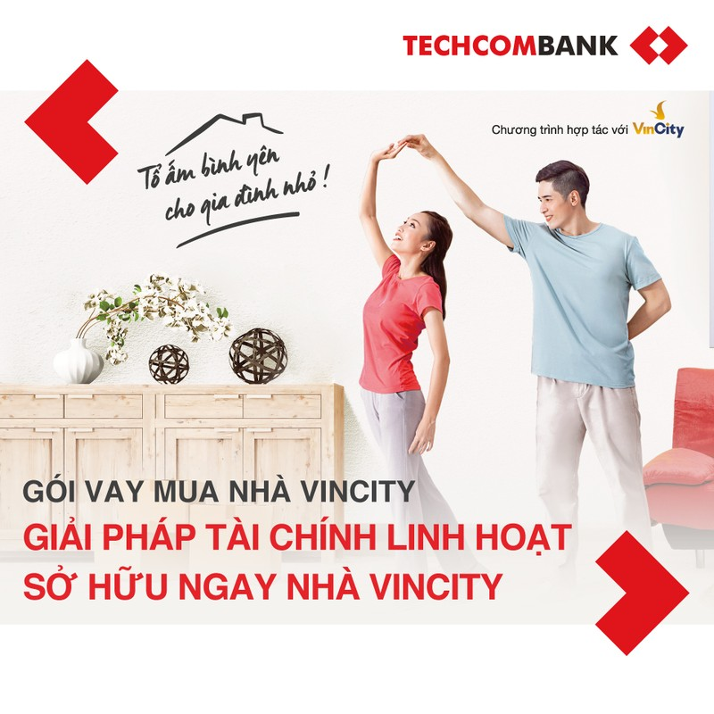 Techcombank - Vingroup hợp tác, cung cấp giải pháp về nhà ở cho người dân