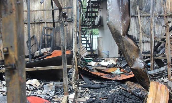 Vụ cháy gần bệnh viện Nhi Trung ương: Liệu có khởi tố bị can?