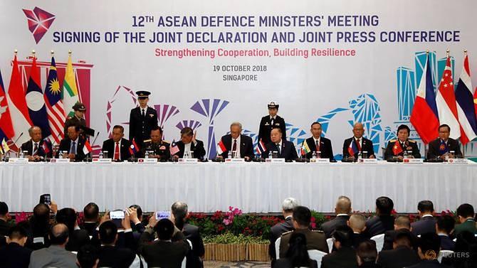 Các Bộ trưởng ký tuyên bố chung