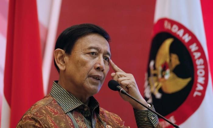 Bộ trưởng An ninh Indonesia Wiranto. Ảnh RT/KTĐT