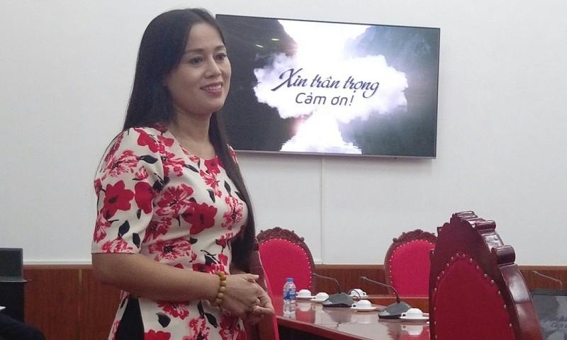 """Cô giáo Nguyễn Kim Anh, Trường THPT Phan Huy Chú: """"Làm tất cả chỉ bởi yêu lắm môn Văn"""""""