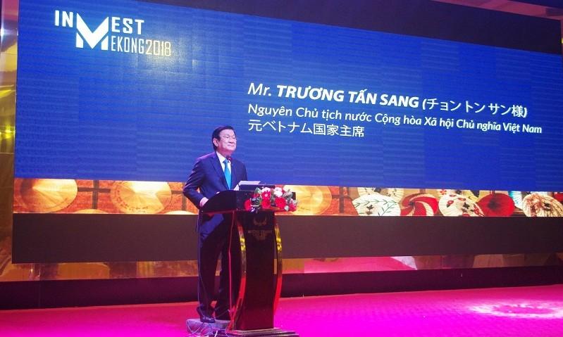 Nguyên Chủ tịch nước Trương Tấn Sang hi vọng diễn đàn sẽ góp phần tăng cường mối quan hệ hợp tác giữa hai nước