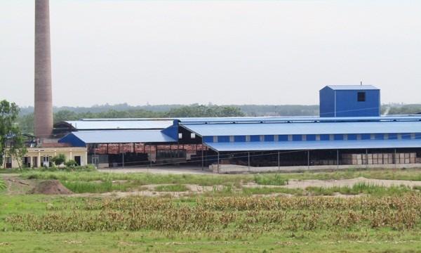 Nhà máy gạch của Công ty CP gạch Đại Hoàng