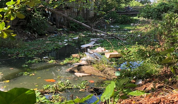 Sông Phổ Lợi bị ô nhiễm ngày càng nghiêm trọng