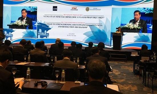 Các thành viên IPAF chia sẻ kinh nghiệm xử lý nợ tại Hội nghị quốc tế Diễn đàn IPAF 2018
