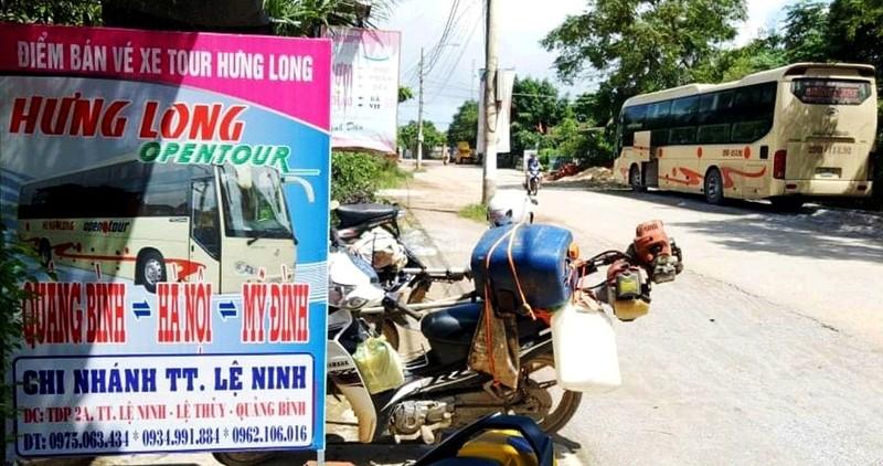 """Quảng Bình: Nhà xe """"né luật"""" tồn tại gần chục năm"""