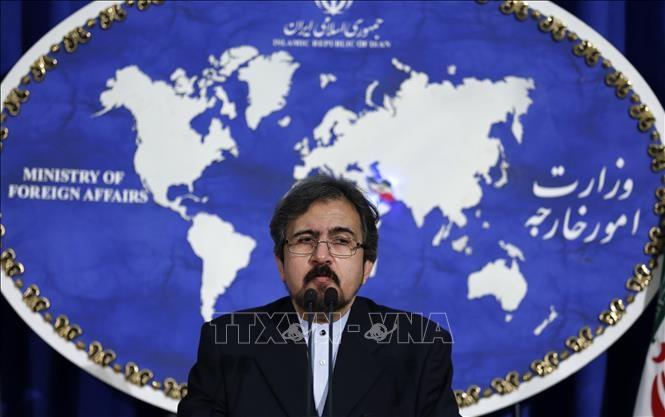 Người phát ngôn Bộ Ngoại giao Iran Bahram Qassemi. Ảnh: AFP/TTXVN