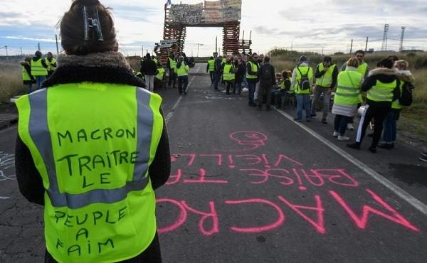 Người biểu tình tại Pháp