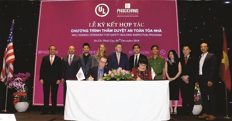 UL và Phúc Khang ký kết hợp tác chương trình thẩm duyệt an toàn toà nhà