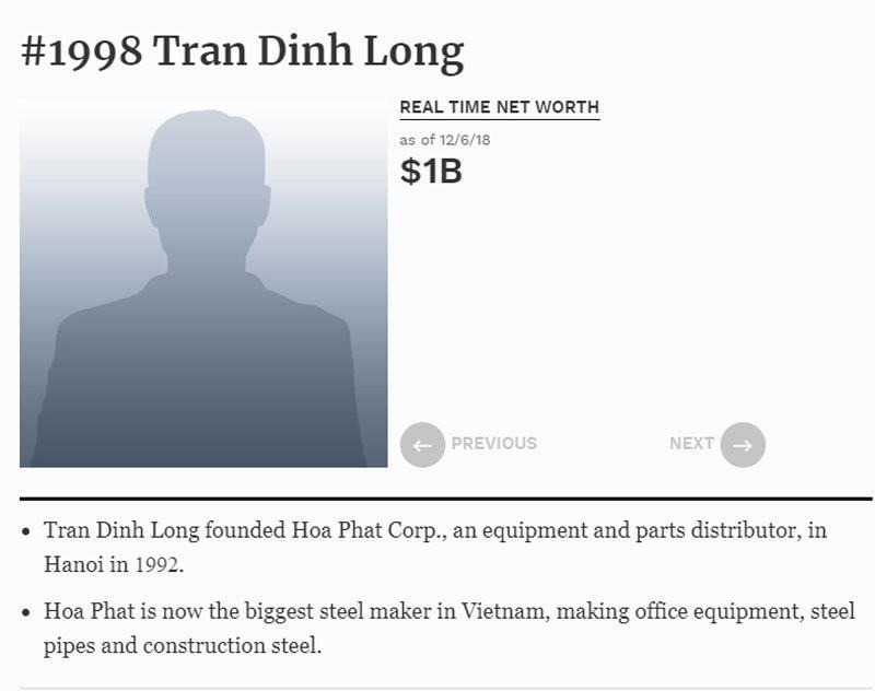 Chờ thêm 2 đại gia Việt Nam được vinh danh tỷ phú USD toàn cầu
