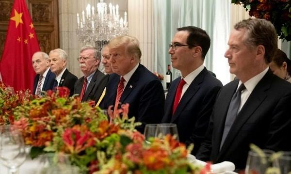 Phái đoàn Mỹ tại cuộc gặp thượng đỉnh Mỹ - Trung vừa qua