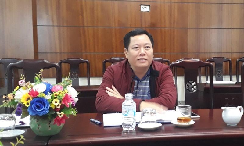 Ông Trần Đức Thuận, Phó Chủ tịch UBND huyện Chiêm Hóa trao đổi về vụ việc gia đình ông Hệ