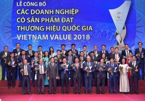97 doanh nghiệp đạt Thương hiệu Quốc gia 2018