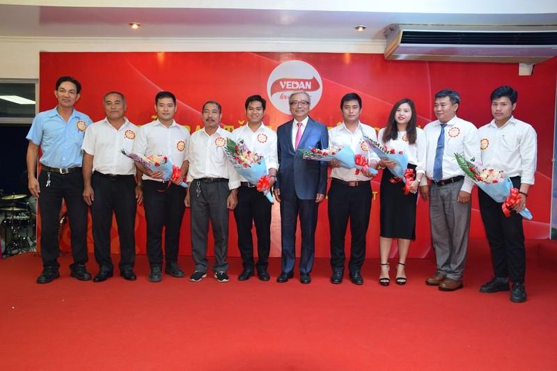 Vedan Việt Nam tri ân 104 nhân viên cống hiến 20-25 Năm