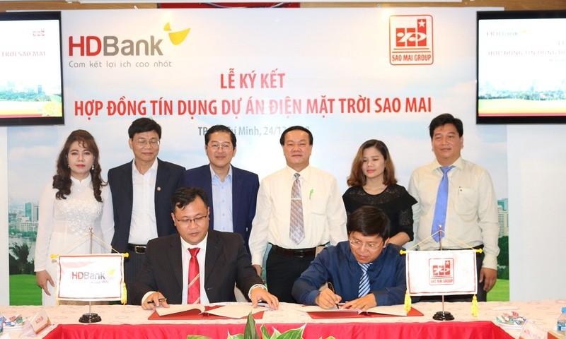 HDBank đồng hành với Sao Mai Group xúc tiến Dự án điện năng lượng mặt trời