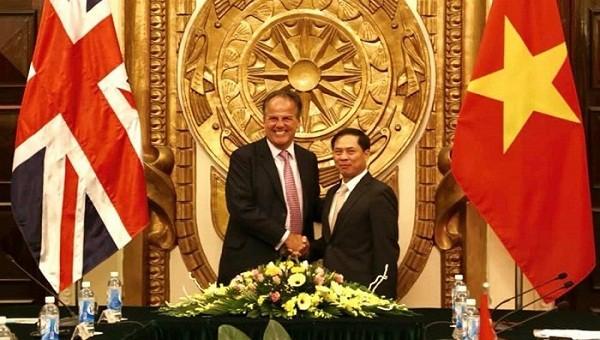 Việt Nam – Anh cam kết tiếp tục phối hợp chặt chẽ trong phòng chống tham nhũng