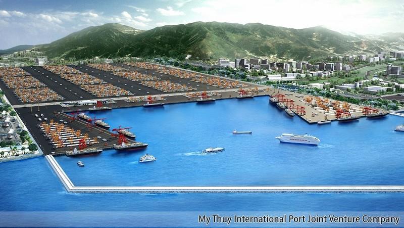 Dự án Cảng Mỹ Thủy, một trong số danh mục đầu tư của SCIC giai đoạn 2017- 2018