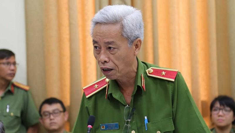 Thiếu tướng Phan Anh Minh cảnh báo tình trạng người nghiện ma túy gây tai nạn giao thông