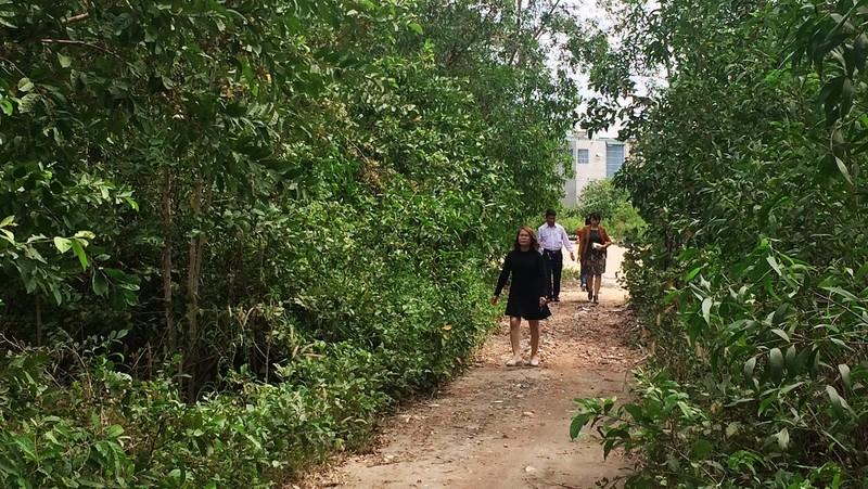 Thửa đất số 26542.50.206 tờ bản đồ số 50 có diện tích hơn 6 ngàn m2 tại đường Võ Nguyên Giáp, phường 12, TP Vũng Tàu mà bà Nguyễn Thị Thảo đã bán cho ông Đặng Quang Đức.