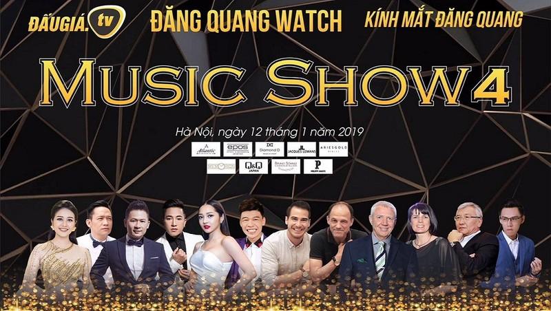 """Bằng Kiều, Duy Mạnh sẽ biểu diễn tại """"Đăng Quang Music show 4"""""""