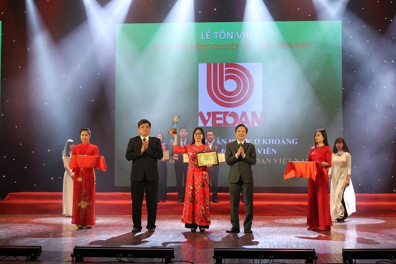 Vedan Việt Nam lần thứ 4 liên tiếp được vinh danh Sản phẩm nông nghiệp tiêu biểu