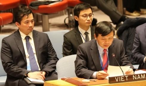 Việt Nam kêu gọi thúc đẩy tuân thủ các nghị quyết liên quan tình hình ở Trung Đông