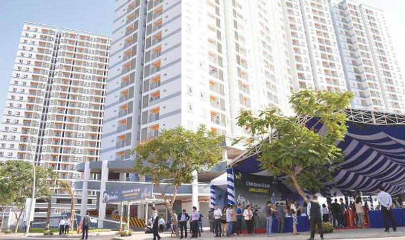 Giá căn hộ tại Sài Gòn tiếp tục leo thang
