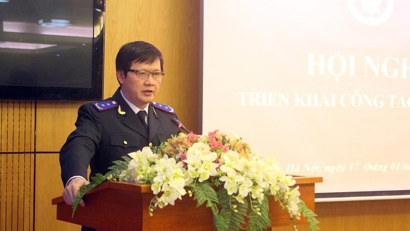Tổng cục trưởng Tổng cục THADS Mai Lương Khôi yêu cầu toàn hệ thống cần nâng cao chất lượng kiểm tra, giám sát, nhất là cấp cơ sở