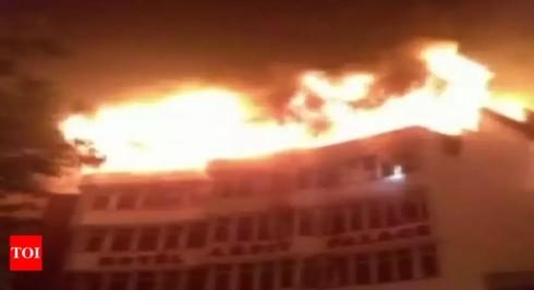 Cháy khách sạn tại Ấn Độ, ít nhất 17 người thiệt mạng