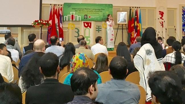 Đại sứ quán Việt Nam tại Hà Lan dự Lễ kỷ niệm Ngày Tiếng mẹ đẻ Quốc tế