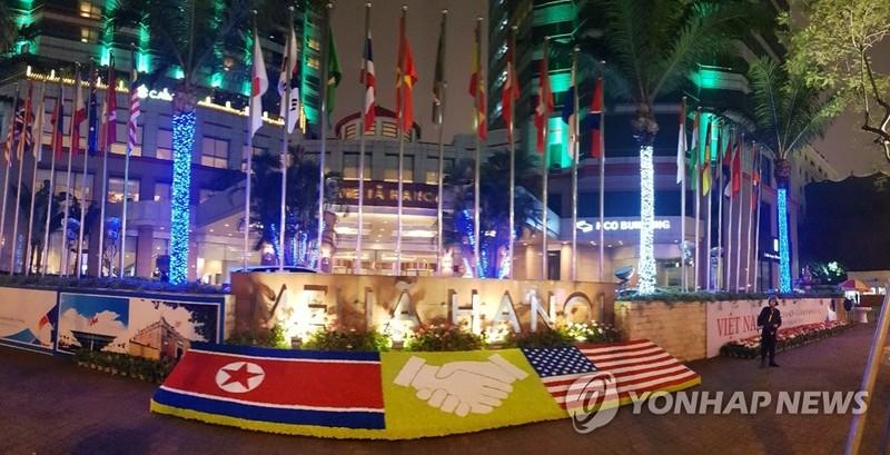 Hình ảnh khách sạn Melia trên tờ Yonhap của Hàn Quốc