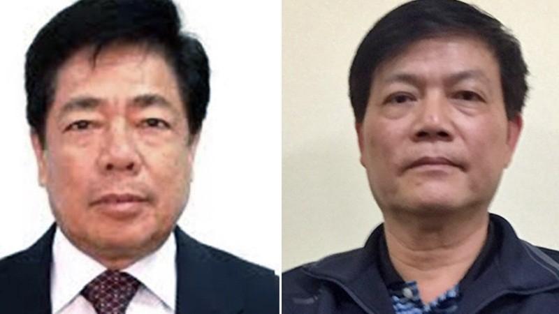 Trương Văn Tuyến và Nguyễn Ngọc Sự. Ảnh VNN