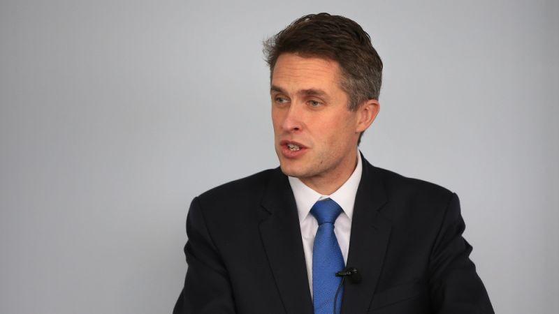 Bộ trưởng Quốc phòng Anh Gavin Williamson