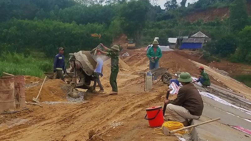 Dự án hồ chứa nước hàng chục tỷ thi công ẩu ở Nghệ An