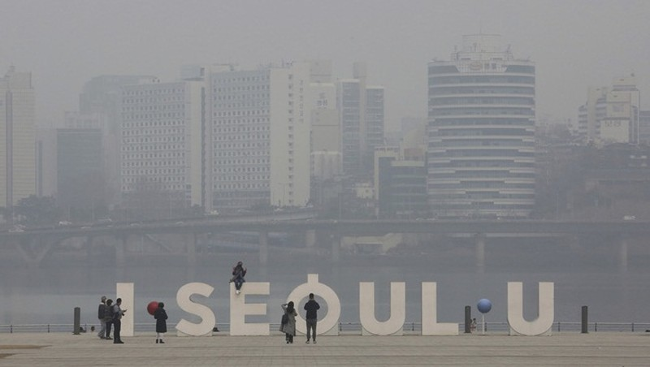 Hàn Quốc kêu gọi tăng cường biện pháp chống nạn ô nhiễm bụi mịn