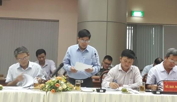 Ông Nguyễn Ngọc Thường - Phó Giám đốc Sở TN&MT tỉnh Đồng Nai thông tin tại buổi họp báo