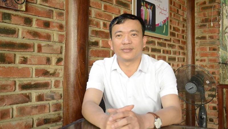 Thầy giáo, hiệu trưởng Lê Công Thuận