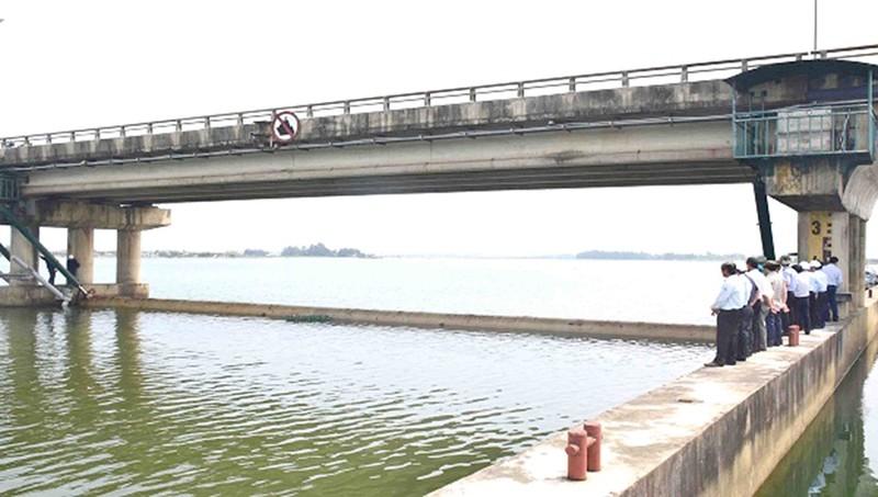 Đập ngăn mặn lớn nhất Đông Nam Á xuống cấp nghiêm trọng