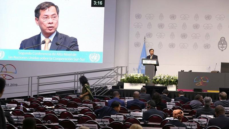 Việt Nam tích cực thúc đẩy hợp tác với các nước đang phát triển