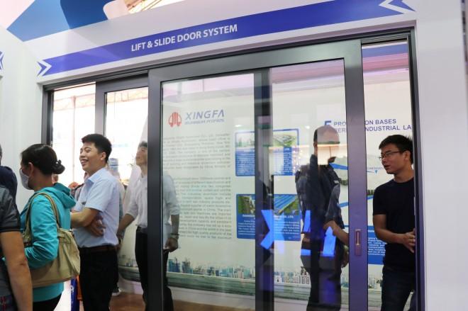 Nhôm Xingfa Quảng Đông tiếp tục ghi điểm cao tại Triển lãm quốc tế Vietbuild Hà Nội 2019 - Ảnh 6